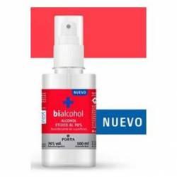 Alcohol Etílico 70 en Spray Bialcohol x 100 cc.