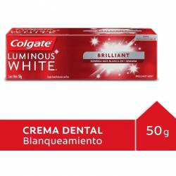 Crema Dental Luminous White Brillo Colgate x 50 g.