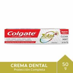 Crema Dental Total 12 Clean Mint Colgate x 50 g.