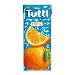 Jugo sabor Naranja Tetra Tutti x 200 cc.