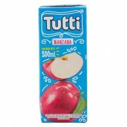 Jugo sabor Manzana Tetra Tutti x 200 cc.