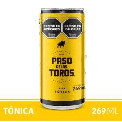 Gaseosa Tónica Lata Paso de los Toros x 269 cc.