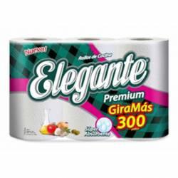Rollo Cocina Premium Giramas x 100 paños Elegante x 3 un.