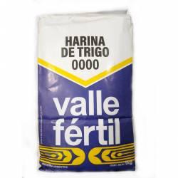 Harina de Trigo 0000 Valle Fértil x 1 Kg.