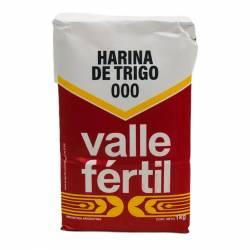 Harina de Trigo 000 Valle Fértil x 1 Kg.