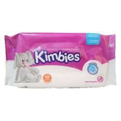 Toallas Húmedas para Bebes Kimbies x 48 un.