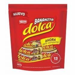 Bocadito s/Banana c/Cho Bananita Dp Dolca x 182 g.
