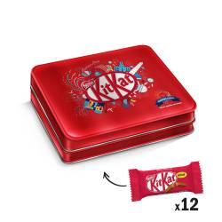 Oblea Rellena y cubierta c/chocolate Lata Kit Kat x 200 g.