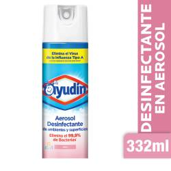 Aerosol Desinfectante Bebe Ayudín x 332 cc.