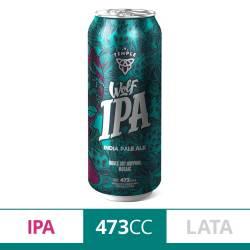 Cerveza Wolf Ipa Lata Temple x 473 cc.