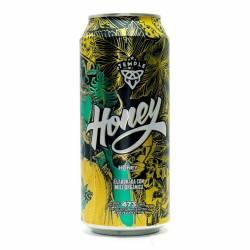 Cerveza Honey Lata Temple x 473 cc.