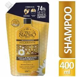 Shampoo Aclarante Dp Tío Nacho x 400 cc.