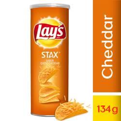 Papas Fritas Cheddar Stax Lays x 134 g.