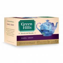 Té en Saquitos Earl Grey Green Hills x 20 un.