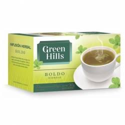 Té en Saquitos Boldo Green Hills x 20 un.