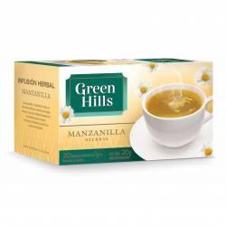 Té en Saquitos Manzanilla Green Hills x 20 un.