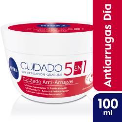 Crema Facial Antiarrugas Nivea x 100 cc.