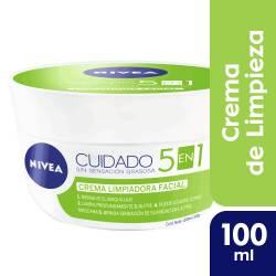 Crema Facial Limpiadora Nivea x 100 cc.