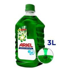 Jabón Líquido Limpieza Profunda Botella Ariel x 3 Lt.