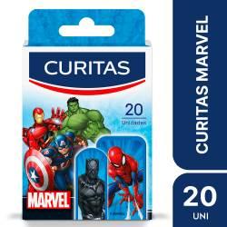 Apósitos Infantiles Marvel Curitas x 20 un.