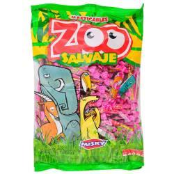 Caramelos Masticables Zoo Salvaje Arcor x 498 g.