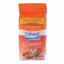Sal Gruesa Paquete Celusal x 500 g.