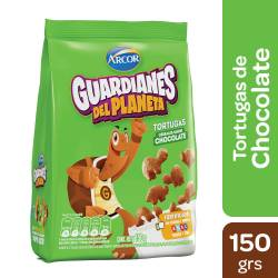 Cereales Tortuga sabor Chocolate Guardianes del Planeta x 150 g.