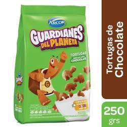 Cereales Tortuga sabor Chocolate Guardianes del Planeta x 250 g.