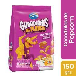 Cereales Cocodrilo sabor Popcorn Guardianes del Planeta x 150 g.