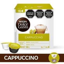 Café Tostado en Cápsulas Capuccino Nescafé  Dolce Gusto x 16 un.