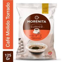 Café Molido Clásico La Morenita x 125 g.