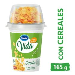 Yogur Cereales Descremado Natural Sancor Vida x 165 g.