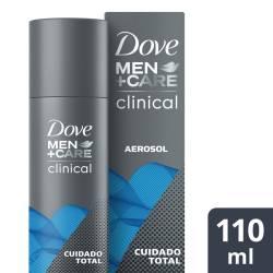 Antitranspirante Aerosol Clinical Dove Men x 110 cc.