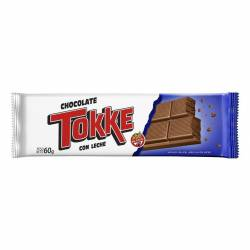 Chocolate con Leche Tokke x 60 g.