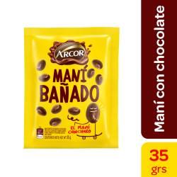 Maní Bañado c/Chocolate Canchero Arcor x 35 g.