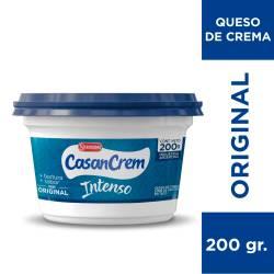 Queso Crema Intenso Casancrem x 200 g.