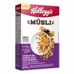Cereales Muslix sabor Acai c/Banana Kelloggs x 270 g.