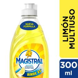 Detergente Líquido Multiuso Limón Magistral x 300 cc.
