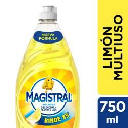Detergente Líquido Multiuso Limón Magistral x 750 cc.