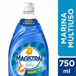 Detergente Líquido Multiuso Marina Magistral x 750 cc.