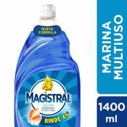 Detergente Líquido Multiuso Marina Magistral x 1,4 Lt.
