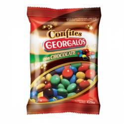 Lentejas de Chocoinfantiles Fiesta Georgalos x 80 g.