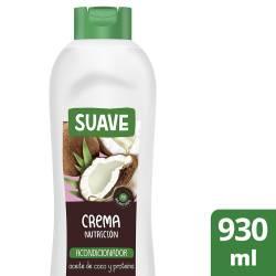 Acondicionador Crema Nutrición Coco Suave x 930 cc.
