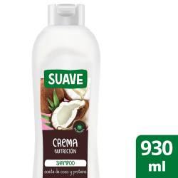 Shampoo Crema Nutrición Coco Suave x 930 cc.
