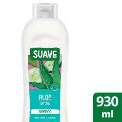 Shampoo Aloe Detox Suave x 930 cc.