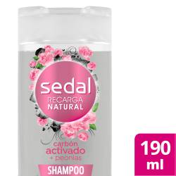 Shampoo Carbón Act y Peonias Sedal x 190 cc.