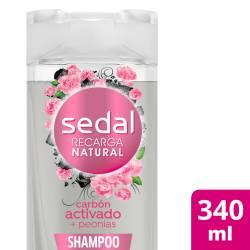 Shampoo Carbón Act y Peonias Sedal x 340 cc.