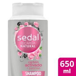 Shampoo Carbón Act y Peonias Sedal x 650 cc.