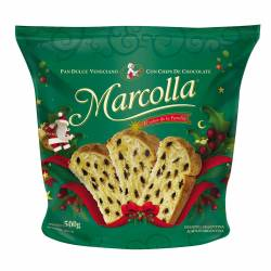 Pan Dulce c/Chocolate Marcolla x 500 g.