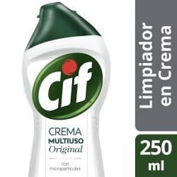 Limpiador en Crema Cif Original Multiuso x 250 ml.